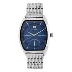 Titan Blue Dial Analog Watch For Men-1680SM02