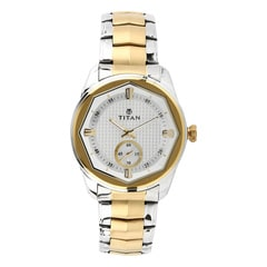 Titan Regalia Sovereign White Dial Analog Watch for Men