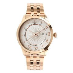 Titan Regalia Sovereign Silver Dial Analog Watch for Men