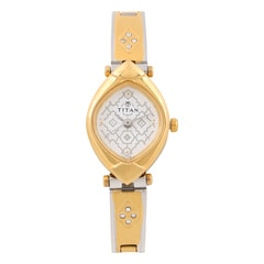 Titan White Dial Analog Watch for Women