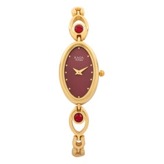 Titan Red Dial Analog Watch for Women