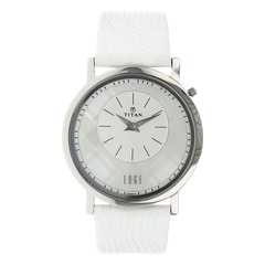 Titan Edge White Dial Analog Watch for Women-2552SL01