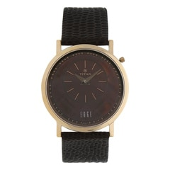 Titan Brown Dial Analog Watch for Women-2552WL02