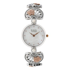 Titan Raga Aurora MOP Natural Dial Analog Watch for Women