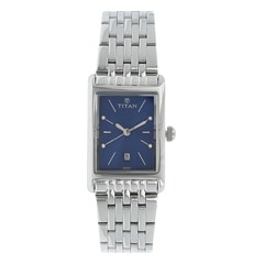 Titan Neo Blue Dial Analog Watch for Women