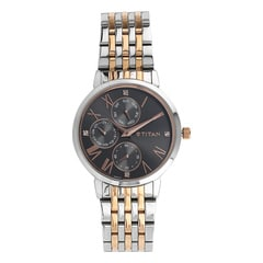 Titan Neo Black Dial Multifunction Watch For Women