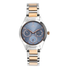 Titan Neo Blue Dial Multifunction Watch for Women