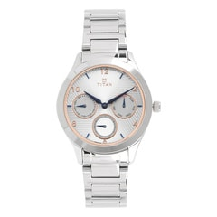 Titan Neo White Dial Multifunction Watch for Women