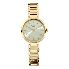 Titan Raga Viva Champagne Dial Analog Watch for Women