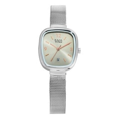 Titan Grey Dial Analog with Date Watch for Women