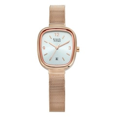 Titan Silver Dial Analog with Date Watch for Women