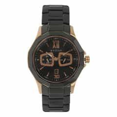 Titan Black Dial Analog Watch for Men-90012KD02J