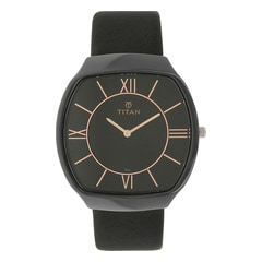 Titan Ceramic Analog Watch For Men-90015KL01J
