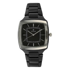 Titan Ceramic Analog Watch For Men-90016KC01J