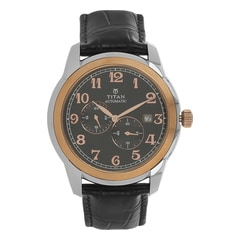 Titan Black Dial Analog Watch For Men-90033KL01J