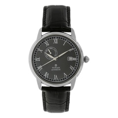 Titan Black Dial Analog Watch For Men-90037SL01J