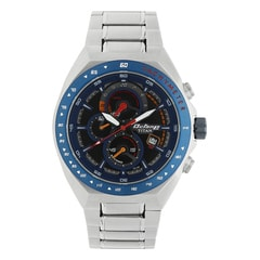 Titan Octane Blue Dial Chronograph with Tachymeter Watch for Men
