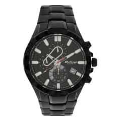 Titan Octane Black Dial Chronograph Watch for Men