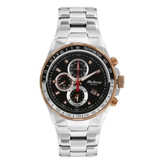 Titan Octane Black Dial Chronograph Watch For Men