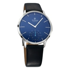 Titan Connected Blue Dial Smart Watch