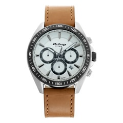 Titan Octane Active White Dial Chronograph Watch for Men