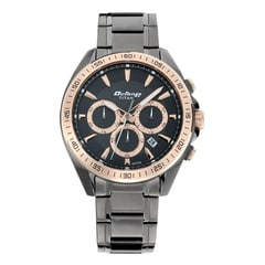 Titan Octane Active Black Dial Chronograph Watch for Men