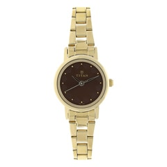 Titan BROWN Dial Analog Watch for Women