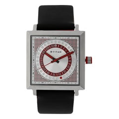 Titan Purple Analog with Date Watch For Men-9434SL01