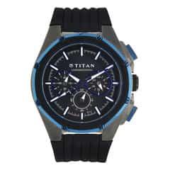 Titan Chronograph Male Octane watch 9470KP01J