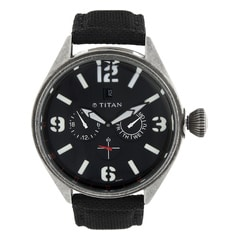 Titan Black Dial Analog Watch For Men-9478QF01J