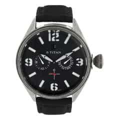 Titan Black Dial Analog Watch For Men-9478QF01J