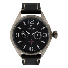 Titan Black Purple Watch For Men-9478QL01J