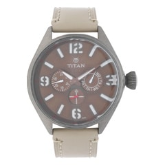 Titan Purple Multifunction Watch For Men-9478QL03J
