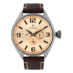 Titan Brown Purple Watch For Men-9478QL04J