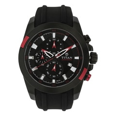 Titan Octane Chronograph Watch For Men-9482KP02J