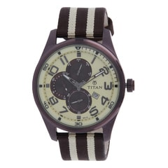 Titan Multifunction Male Octane watch 9487QP01J