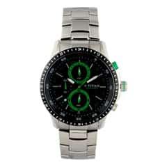Titan Octane Chronograph Watch For Men-9496KM01J