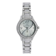 Titan Purple Green Dial Steel Case Analog Watch for Women-95024SM03J