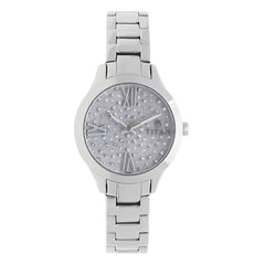 Titan Purple Lilac Studded Dial Analog Watch for Women-95027SM02J
