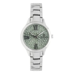 Titan Purple Green Studded Dial Analog Watch for Women-95027SM03J