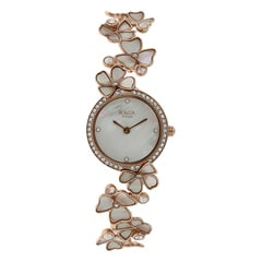 FCUK Mother of Pearl Dial Analog Watch for Women