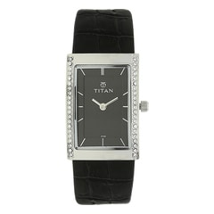 Titan Workwear Black Dial Analog Watch for Women-95034SL01J