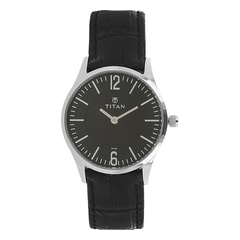 Titan Black Dial Analog Watch for Women-95035SL01J