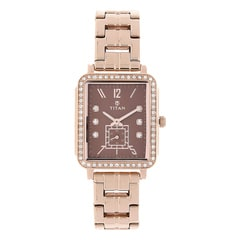 Titan Purple Past Modern Analog Watch for Women
