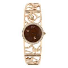 Titan Raga Aurora MOP Brown Dial Analog Watch for Women