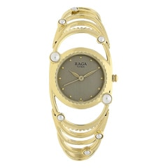 Titan Raga Aurora Beige Dial Analog Watch for Women