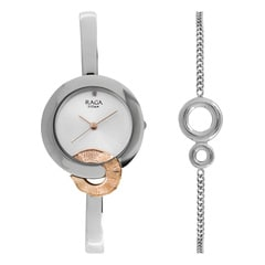 Raga Espana by Titan Rose Gold Dial Analog Watch for Women