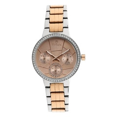 Titan Silver White Dial Analog Watch for Women
