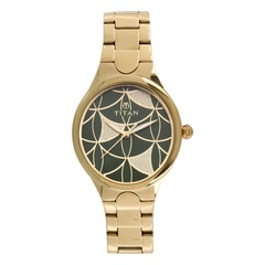 Titan Green Dial Analog Watch for Women