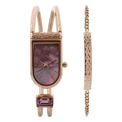Raga Espana by Titan Mother of Pearl Dial Analog Watch for Women